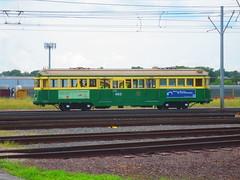 Melbourne W2 Tram 482 (CrispyBassist) Tags: railroad railway train track melbournetram w2class seattlewaterfrontstreetcar tram streetcar
