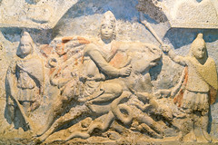 Mithrum Fertrkos, 3. Jahrhundert (Anita Pravits) Tags: cautepates cautes cautopates fertrkos hungary kroisbach kultsttte magyarorszg mithra mithraism mithraismus mithras mithrasgrotte mithraskult mithrastempel mithraszszently mithrum mitra mythraicmysteries mrbisch relief romanempire rmischesreich sanctuaryofmithras stierttung tauroktonie tempel ungarn mithraeum shrine sonnengott sungod