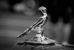 "1937  Packard Hood Ornament, ""Sliding Boy"" 2016 Steven Karp (kartofish) Tags: newhope buckscounty pennsylvania fujifilm xt1 hoodornament vintage packard 2016 automobile 1937 chrome"