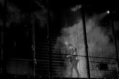 U2 @ O2 30.10.15 (Nomis.) Tags: panasonic lumix lx3 gig music concert live band london o2 u2 u2o2 lightroom monochrome mono bw blackandwhite innocenceexperiencetour u2ie p1610510editlr p1610510 stage screen