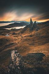 Skye, Jan 2016. (Iain Brooks) Tags: skye scotland old man storr landscape long exposure loch sunrise sunset nikon d610
