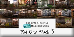 KaTink - Xin City Pack 5 (Marit (Owner of KaTink)) Tags: katink my60lsecretsale annemaritjarvinen 60l 60lsales photography secondlife sl