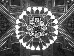 Chandelier... (@oloarge) Tags: chandelier lamp budapestoperahouse bw interiors