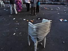 end of a show (indranilbhattacharya) Tags: street people kolkata asia indiastreet india