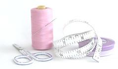 Measure twice, cut once (judith511) Tags: odc pair scissors tapemeasure thread needle