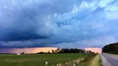 Storm Motion 1 (Salwa Afef) Tags: motion landscape slowshutter cloud dutchlandscape sunset countryside iphonephotography mobilephotography ipadart iphonepic sky outdoor storm longexposure