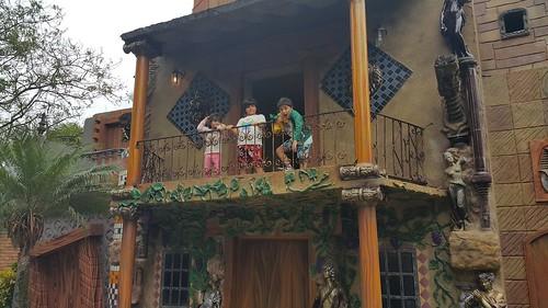 Na casa do pirata