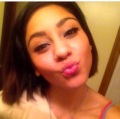 Ratchet white girl selfie