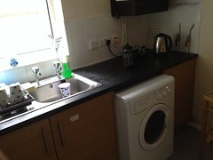 kitchen and washing machine 1