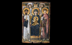 Virgin (Theotokos) and Child between Saints Theodore and George
