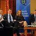 IHF2015 Stephen McNally, IHF President, Aidan Murphy, Crowe Horwath, Sarah Duignan, STR Global and Prof Alan Aherne, Economist