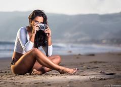 Taisa  from Brazil (Eric Zumstein) Tags: brazil beach fuji sigma malibu brunette tiffen tiesa