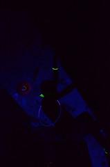 GRO_8208 (WK photography) Tags: chalk climbing blacklight bouldering grotto headlamp rockclimbing glowsticks guelphon rockshoes guelphgrotto