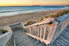 Pondalowie (brendonplug) Tags: sunset color beach stairs nikon tokina adobe nik aistralia d7100 lightrooom adeleide 1116mm