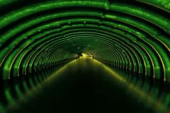 (Subversive Photography) Tags: uk light lightpainting underground steel torch urbanexploration ribs underworld subterranean gels culvert urbex holybrook danielbarter