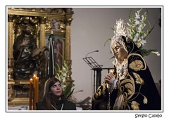 Tierna mirada (Sergio_Callejo) Tags: foto fotografia virgen semanasanta 2015 franciscana cofradia devocion cruzdesnuda