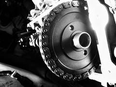 Exposed (roundwound5) Tags: ford metal fix mechanical automotive repair maintenance carparts mustang mechanic mustanggt carrepair valvecover timingchain
