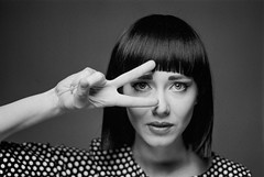Film Scan (Lukasz Baszko) Tags: light film fashion studio model glamour nikon kodak trix f100 scan nikonf100 trix400 kodaktrix400