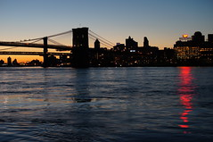 Sunrise over Brooklyn (Kociuszko) Tags: nyc newyorkcity brooklyn sunrise brooklynbridge manhattanbridge eastriver
