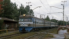 23-8-2003 Tallinn, Estonia 2311 Tondi (peter.velthoen) Tags: tallinn estland estonia emu riga train railroad tondistation gauge1520mm breedspoor broadgauge