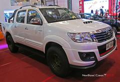 Toyota Hilux (Next Base  Taishi) Tags: world city autoshow center international santos manila toyota trade pasay hilux 2015 czeon