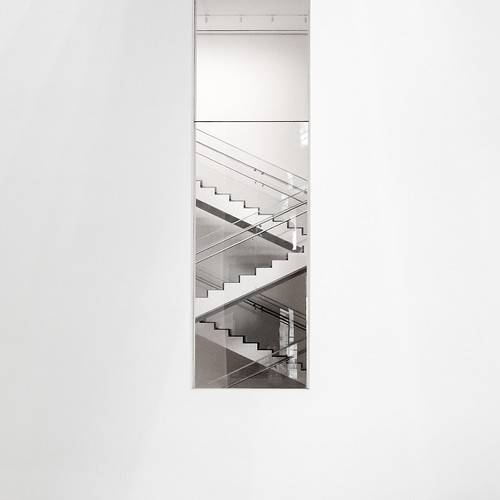 the staircase as a subject    #MoMA - calm and clean [1/3]   new york city, september 2014   #LumixGX7