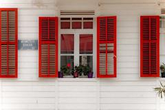 Red shuttered windows (s_gulfidan) Tags: red window shutter 300faves