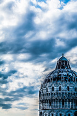 Blue Pisa (yannhock) Tags: blue sky italy building church architecture clouds moody artistic landmark pisa duomo hdr