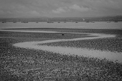 The Dee Estuary (ClydeHouse) Tags: sea bw estuary wirral westkirby yatch riverdee byandrew