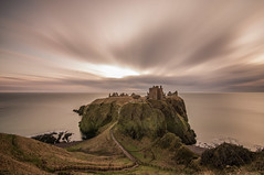Dunnottar Castle (Katherine Fotheringham) Tags: castle clouds scotland long exposure ruin dunnottar