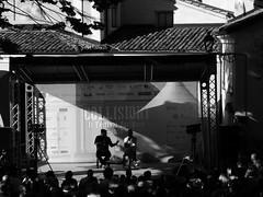 Giacobazzi italian comic at Collisioni festival of Barolo! (Eca photos) Tags: people bw man festival t comic italia gente uomo e po bianco nero tanta comico collisioni