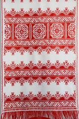 embroidered of Podillya (intui.pro) Tags: embroidery fancywork purl needlework stitching work decoration ornament adornment dressing ornamentation handmade creation oeuvre vyshyvanka art gallery kamianetspodilskyi ukraine red