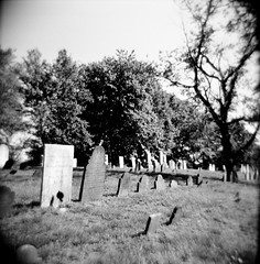 Living My Life (lomojunkie71) Tags: holga film medium format analog cemetery derby connecticut