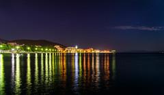 Volos (LefterisDt) Tags: volos greece nikon night longexposure lights stars nightsky