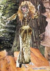 FRONIA DESSE DES  BOIS (KOHLI MICHEL) Tags: art collage arte bosque fort diosa desse artkohli fronia