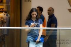 People Watching 02 (Russ Zara) Tags: sonyslta77v zara rzara russzara russ girl young torontoeatoncentre torontoontario canada shoppingcentre shopping mall downtown peoplewatching