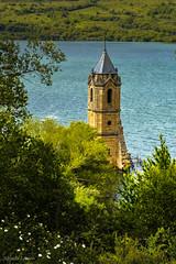 _DSC4189 (allabar8769) Tags: agua torre iglesia cantabria pantanodelebro