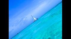 Shades of blue (jasonyarzagaray) Tags: beach sea boat sail blue dutchcaribbean caribe caribbean carribean oranjestad noord malmok aruba
