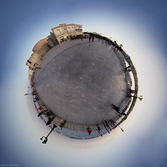 My Little Planet: Tramonto a Otranto (Lucio) Tags: world italia little planet otranto salento lecce