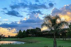 2016-06-29 Backyard Susnet 01 (smurff66) Tags: clouds crosby pond sky