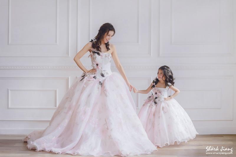 婚紗,婚攝鯊魚,親子婚紗,母女婚紗,Ginger