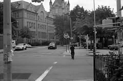 Newtown High School, Queens (triebensee) Tags: canonet ql17 40mm f17 fujineopanacros rodinal 150 selfdeveloped adox epsonv700 fujifilmneopanacros100