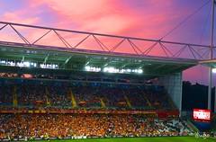 Stade Felix Bollaert-Delelis (@ugo) Tags: nordpasdecalais pasdecalais lens arsenal foot football match stade stadium ambiance ballon