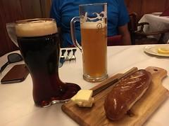 Mader's restaurant, Milwaukee, WI (corsi photo) Tags: milwaukeewisconsin beer beverage alcohol darkbeer bootstein pretzelbread