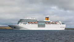 Costa Neo Romantica (MBDGE) Tags: orkney cruiseliners2016 cruiseship kirkwall liner ship boat wave water sea clear sun white ocean canon vacation holiday marine italien