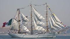 Mexican Navy: CUAUHTEMOC (P.J.V Martins Photography) Tags: veleiro mastro mast tallship wind sail sailboat oeiras portugal navy marinha maritime lisboa lisbon mexico