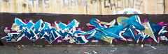 LA FRANZ feat. NAPE OVERSPIN (La Franz) Tags: graffiti graffitigirls girls lady brown roma photography graff graffitiporn graffitipaint wall wallart urban urbanart urbanact street streetart art artwork wallmural wallpaint colors colorsplash graffitistreet lafranz nape overspin blue turquoise vandal vandalism vandals white