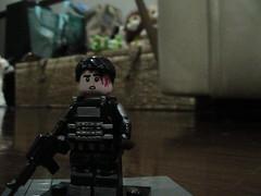 glenn rhee riot gear (brojos customs) Tags: glenn rhee riotgear lego customlego