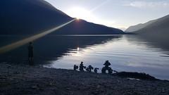 20160820_192742 (Dennisworld) Tags: garibaldiprovincialpark whistler britishcolumbia cheakamuslake singingcreekcampground sunray sunset