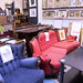 Ex hotel stock chair €220 couch €500